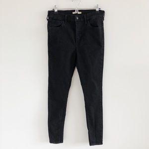 Levi's 720 High Rise Super Skinny Jeans Black 30